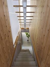 contemporary design japanese house natural materials