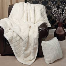 Faux Fur Bed Throw Bed U0026 Bath Appealing Mink Faux Fur Throw Blanket With Throw