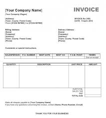 invoice template word mac invoice example