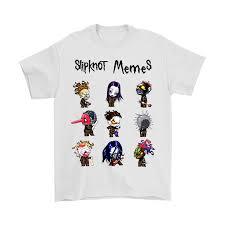 Slipknot Memes - slipknot memes heavy metal band shirts teeqq