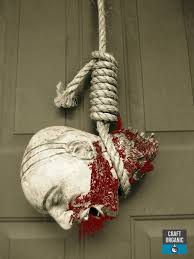 Wreath Halloween Hangman U0027s Noose As A Halloween