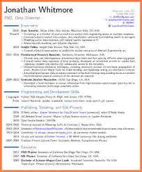 Scientist Resume 11 Data Science Resume Resume Cover Note