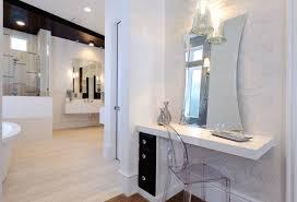 bathroom double vanity with makeup station double sink makeup