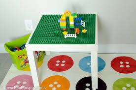 duplo preschool play table brilliant and easy toy storage and organization solutions