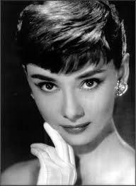 hepburn earrings portraiture hepburn 1950 s