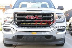 Led Light Bar For Truck How To Install 2014 Up Gmc 1500 Behind Grill Led Light Bar 9 Steps