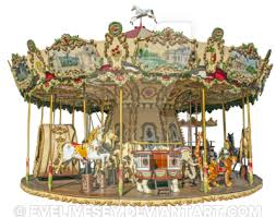 carousel or merry go png by evelivesey on deviantart