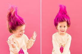 troll for halloween 11 diy halloween hairstyles for you and your kiddos brit co