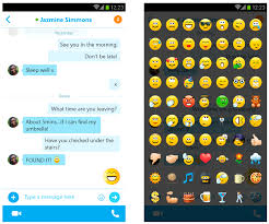 animated emoticons for android skype 5 3 for android adds updated ui w chat bubbles animated