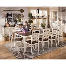 Magnificent Ashley Furniture Cottage Retreat Dining Room Set - Ashley furniture dining table black