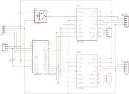 quadrature decoder mostly robots ls7366 shield schematic wiring