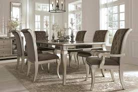 glass dining room sets large glass dining table impressive large white dining room table