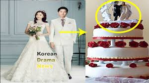 wedding cake song song joong ki song hye kyo wedding photos and cake