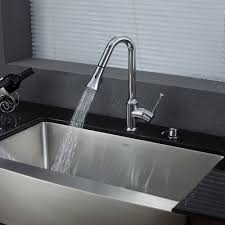 Kitchen Faucet Stainless Steel Stainless Steel Kitchen Sink Combination Kraususa Com