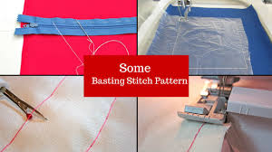 how to make a basting stitch with a sewing machine