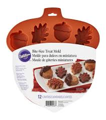 halloween cake molds wilton silicone mold leaf u0026 acorn leaves candy molds and