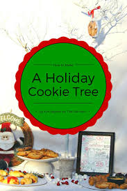 how to make a holiday cookie tree cfacatering this ole mom