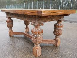 Large Extending Dining Table Fabulous Large Extending Dining Table Carved Light Oak Extending