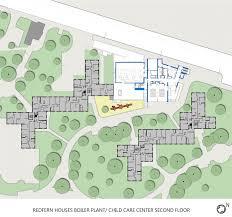 floor plan for child care center redfern houses mdszerbaty associates architecture llc