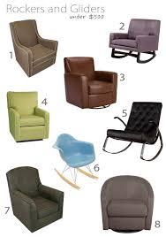 nursery seating for under 500 buymodernbaby com