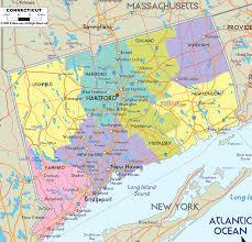 Driving Maps Connecticut Map