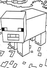 coloring pages minecraft pig here are the best minecraft pig and sheep coloring pages