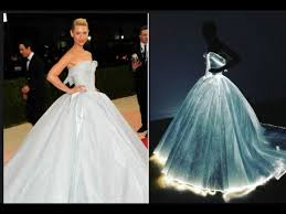 zac posen light up gown met gala claire danes lights up red carpet with zac posen dress