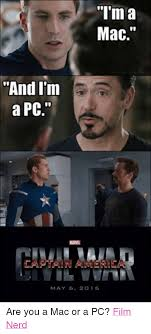 I M A Nerd Meme - im a mac and i m a pc mare may 6 2016 are you a mac or a pc film