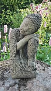 garden sleeping lotus buddha buddah statue ornament patio
