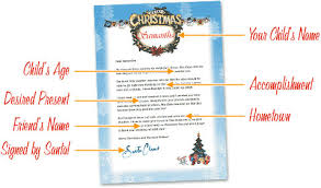 santa claus letters free letters from santa free personalized printable santa letters