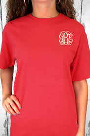 shades of red orange comfort colors ring spun cotton tee