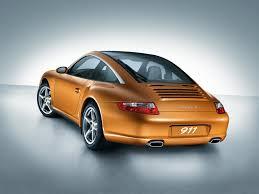 orange porsche targa porsche 911 carrera targa 4 997 specs 2006 2007 2008