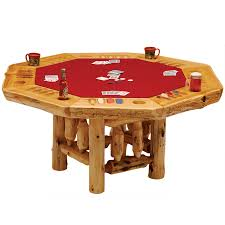 Poker Dining Table by Fireside Lodge Furniture Company Fireside Lodge Furniture Your