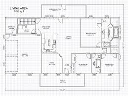 Houses Blueprints by Home Plans Floor Plans For Ranch Style Houses Ranch House Floor