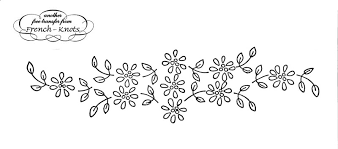 free floral embroidery transfer patterns