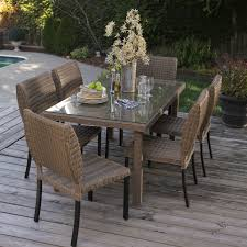 have to have it maya all weather wicker patio dining set seats