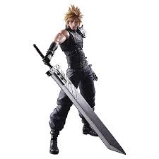 Cloud Strife Halloween Costume Final Fantasy Vii Cloud Strife Play Arts Kai Remake Version