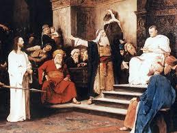 imagenes de jesus ante pilato evangelios apócrifos la túnica mágica de poncio pilatos