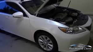 lexus body repair san diego lexus es300h large fender dents pdr youtube