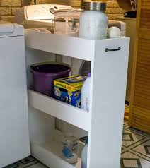 Laundry Room Storage Between Washer And Dryer by She Ran Out Of Space In Her Laundry Room Until She Gets This