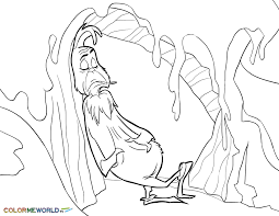 the grinch and his cave pdf printable coloring page the grinch