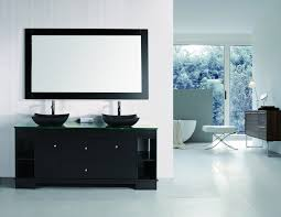 72 inch double sink bathroom vanity with built in led lighting