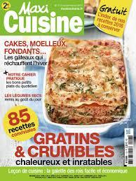 abonnement magazine de cuisine maxi cuisine n 113 abobauer com