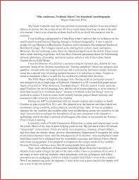 resume for student teachers exles of autobiographies best of an autobiography of student resume for a job