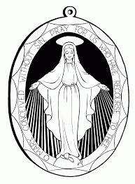 mary mother of jesus coloring page coloring home