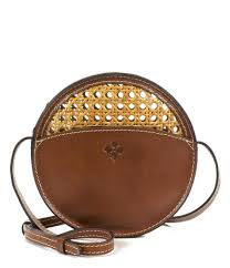 patricia nash vintage wicker collection scafati round cross body