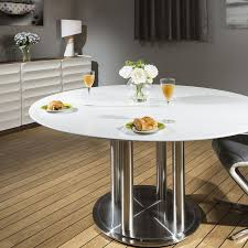 commercial dining room tables quatropi round dining table white 150cm corian top commercial