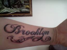 my sons name tattoo picture