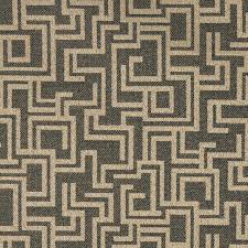 Indoor Outdoor Fabric For Upholstery Black And Brown Geometric Outdoor Indoor Marine Upholstery Fabric