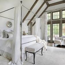 Sheer Curtains Over Bed Round Mirror Over Bed Design Ideas